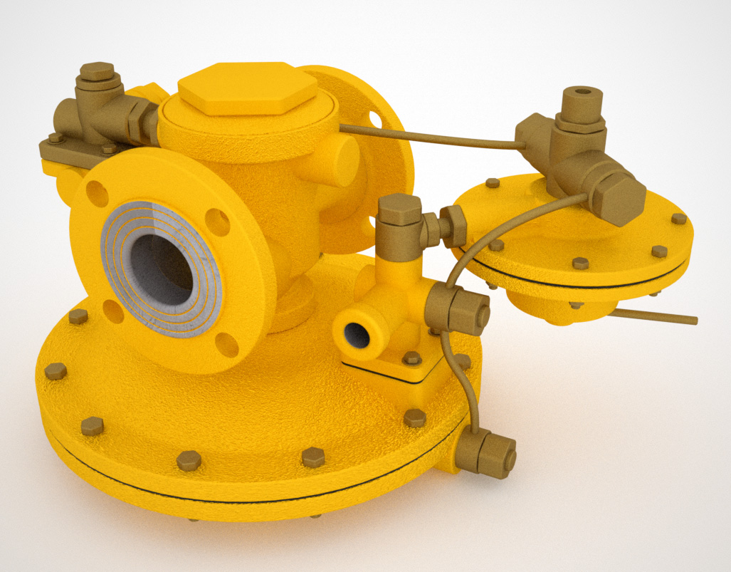 Регулятор давления газа РДБК1-50-25